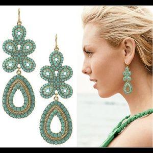 Stella and Dot Capri Chandelier Earrings